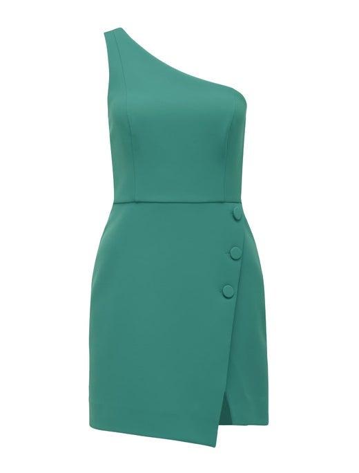 Dianne One-Shoulder Mini Dress