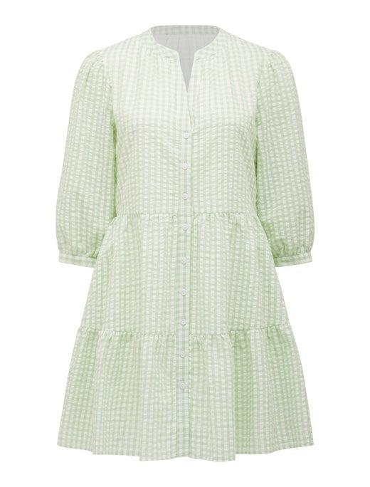 Gina Gingham Smock Dress