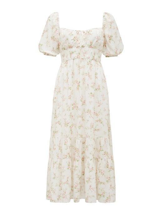 Josephine Tiered Midi Dress