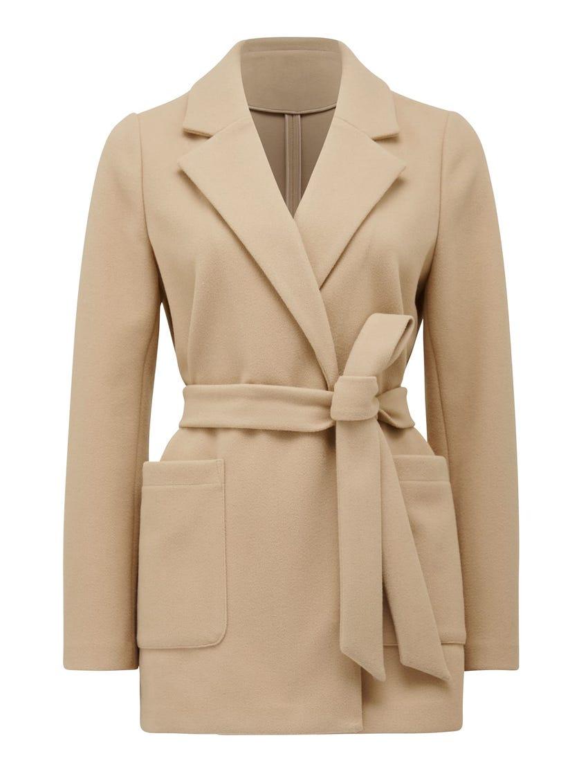 laura wrap jacket