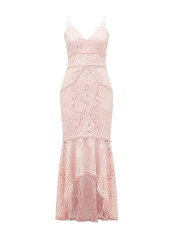 Lexi Lace Fishtail Dress