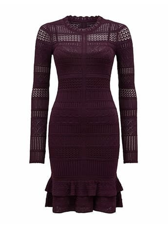 Michelle Lace Stitch Dress