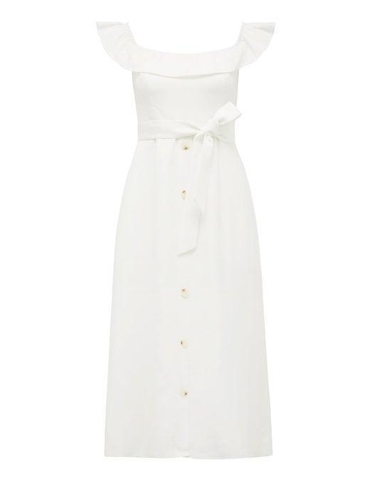 Natasha Petite Off-Shoulder Dress
