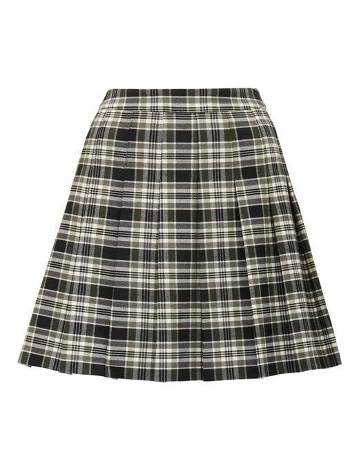 Tania Petite Check Kilt Mini Skirt