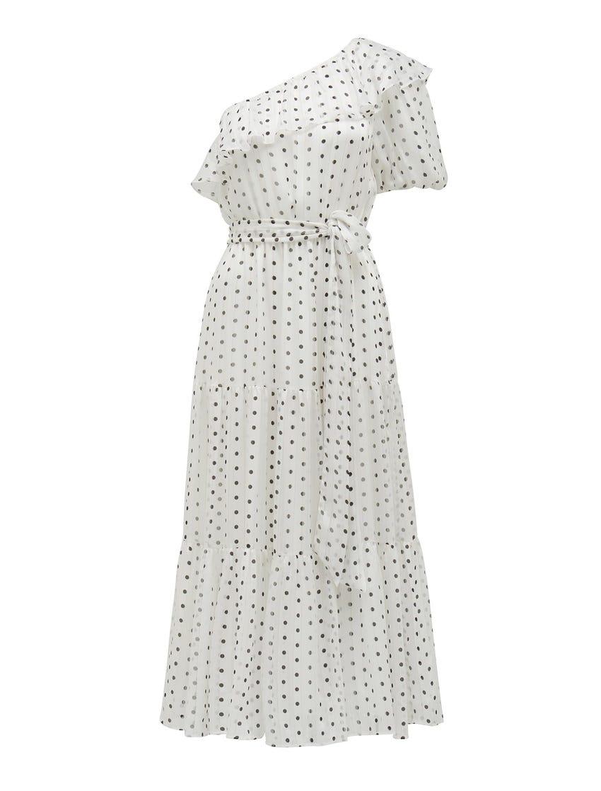 Willa One-Shoulder Maxi Dress